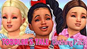 the sims 4 toddler s tale clothing pack full cc list
