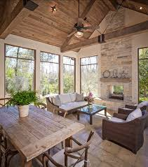comfy brown wooden sunroom furniture paired. screened porch what a nice place to enjoy the relaxing views table is custom comfy brown wooden sunroom furniture paired