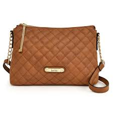 nicole miller new york lena quilted cross handbag