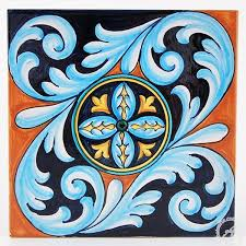 deruta ceramics tile 10 buy italian pottery at thatsarte com intended for ceramic decorations 4 on italian ceramic tile wall art with deruta ceramics tile 10 buy italian pottery at thatsarte com
