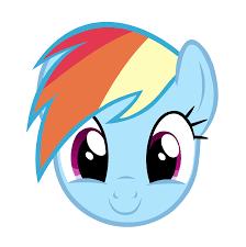 rainbow dash cute grin by alsatianvdk d4
