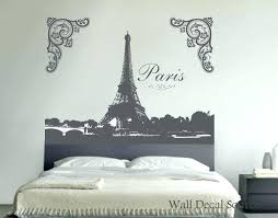 large eiffel tower wall decal tower wall decal wall art decal by tower wall decal wall