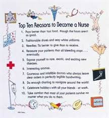 college essays  college application essays   sample nursing school    sign    reasons to become a nurse     video  reasons to become a nurse