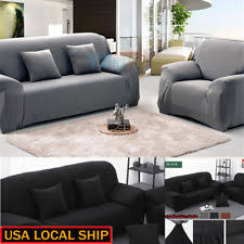sectional sofa covers. Elastic Slipcover Solid Sectional Sofa Couch Covers Slip 1/2/3-seater J