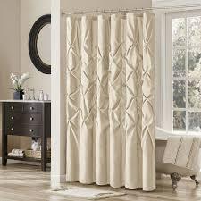 luxury shower curtain ideas. Bath \u0026 Shower: Brown Luxury Shower Curtains With French Window . Curtain Ideas N
