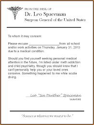 Medical Excuse Note Berebellious Co