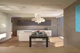 deluxe contemporary beach house with airy interior gorgeous modern kitchen in white decorated with fancy