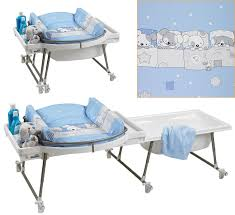baby change table bath combo designs