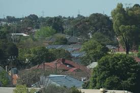 roof tops in an adelaide suburb