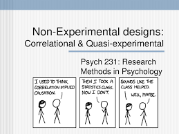 Experimental Vs Quasi Experimental Design Non Experimental Designs Correlational Quasi Experimental