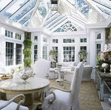 White Natural Sunroom Designs