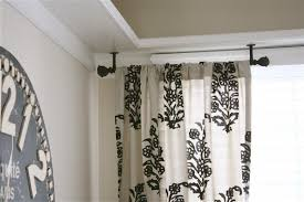 Ceiling Mounted Shower Curtain Rods contemporary bedroom style with short round ceiling mounted shower 1987 by xevi.us