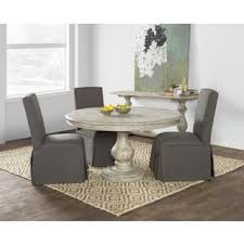 gray wood dining table. Wakefield Reclaimed Wood Grey Round Dining Table By Kosas Home Gray