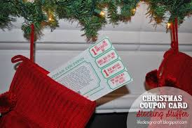 life design and the pursuit of craftiness christmas coupon card super easy stocking stuffer for hubby christmas coupon card so much better