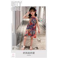 Đầm bé gái 4 tuổi (3 - 12 tuổi) ️ váy cho bé gái 1 tuổi ️ thời trang bé gái  10 tuổi giá cạnh tranh