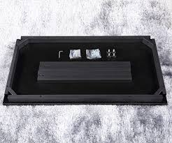 black office table. Office Desk 55\ Black Table I