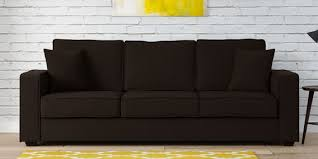furniture design sofa. Simple Sofa Hugo Three Seater Sofa In Chestnut Brown Colour On Furniture Design D