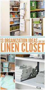 13 linen closet organization ideas you need to implement asap