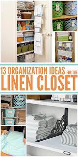 13 linen closet organization ideas you need to implement asap