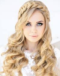 Curly Hair Style Up ideas of bridal curly hairstyles for every length hairs 6431 by wearticles.com