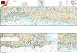 Noaa Nautical Charts For Sale Noaa Chart 11430 Lostmans River To Wiggins Pass 25 5 X 36 Small Format Waterproof