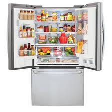 Largest Capacity Refrigerator Lfxs30766s Lg Appliances 36 296 Cu Ft French Door