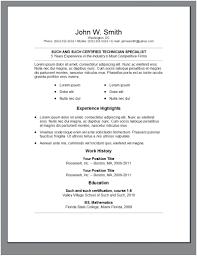 College Student Resume Format Math Resume Format Student Internship