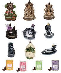 <b>Backflow Incense Burner</b> Dragon Buddha <b>Ganesh Burners Holder</b> ...