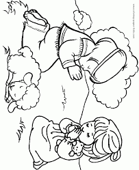 Praying Coloring Pages Boy And Girl Praying Color Page Free