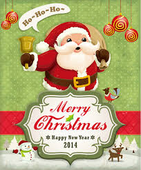 Childlike Cartoon Santa Claus Vector Free Vector Graphic