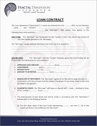 Business To Loan Agreement Template Motion Picture Investor