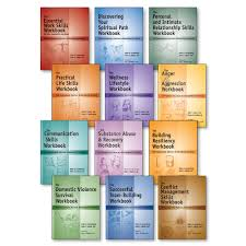 life skills mental health workbooks life skills mental health workbooks 12 book set