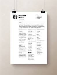 Simple Resume Templates Rumble Design Store