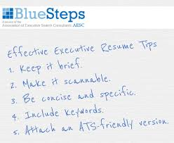 Tips For An Effective Resumes Executive Resume Tips Personal Branding Documents For Job