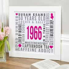 personalized year of birth print