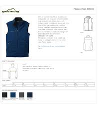 Vest Fleece 3 Zippered Chest Waist Pockets True To Size