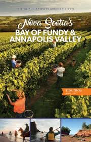 Tide Chart Wolfville Ns Bay Of Fundy Annapolis Valley Shore Guide 2019 By Metro
