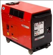 small portable diesel generator. 3.2 KVA Portable Diesel Silent Small Generator