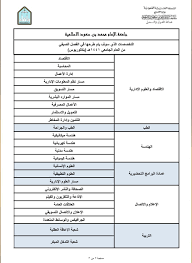 """جامعة الإمام محمد بن سعود الإسلامية Twitterren: """"عمادة القبول والتسجيل في  #جامعة_الإمام تعلن عن التخصصات المتاحة في الفصل الصيفي للعام الجامعي  ١٤٤١هـ. https://t.co/30VGEIv1Tg… https://t.co/aEQPGVcXZo"""""""