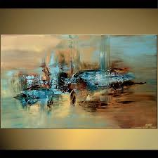 modern abstract hand painted art oil painting wall decor canvas no framed