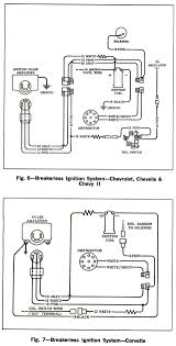corvette service news wiring diagrams for breakerless 1966 corvette service news wiring diagrams for breakerless ignition systems