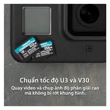 Thẻ nhớ Kingston Canvas Go Plus MicroSD 64GB cho thiết bị di động Camera,  Flycam và Sản xuất video 4K SDCG3/64G - BEN