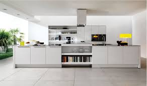 off white kitchen white gloss solid wood wall mount cabinets gray round leather comfy ottoman wooden