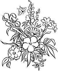 Detailed Flower Coloring Pages – Pilular – Coloring Pages Center
