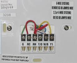 problem goodman gmnt to hunter 44155c thermostat hvac diy problem goodman gmnt to hunter 44155c thermostat hunter jpg
