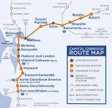 capital corridor train route map for northern california Northern Train Line Map route map routemap_2017_complete northern train line map