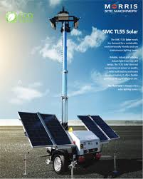 Smc Lighting Smc Tl55 Solar Lighting Tower