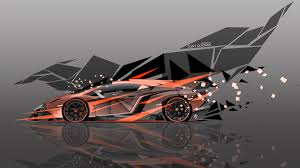 lamborghini aventador super abstract car