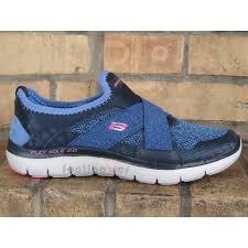 skechers new shoes. zoom immagine shoes skechers flex appeal 2.0 - new image memory foam 12752 nvy navy slip on woman n