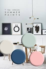 interior trends 4 top colours to refresh your home this summer